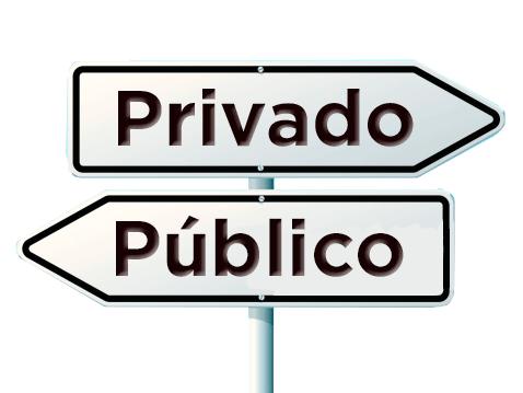 Diferenças - Setor Público e Privado