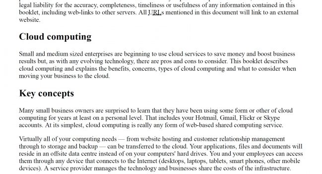 Cloud Computing – Ontario Government