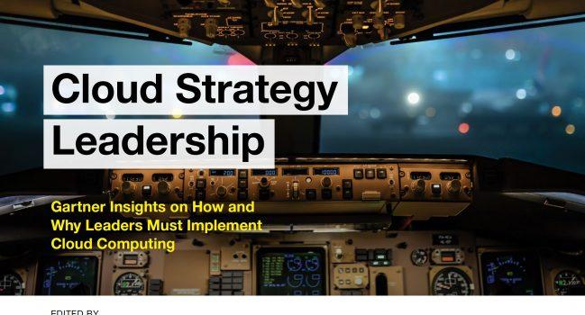 Cloud StrategyLeadership – Gartner, 2017