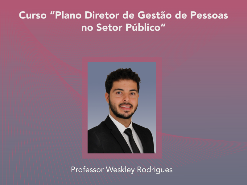Curso: Plano Diretor de Gestão de Pessoas no Setor Público - Não perca!!!